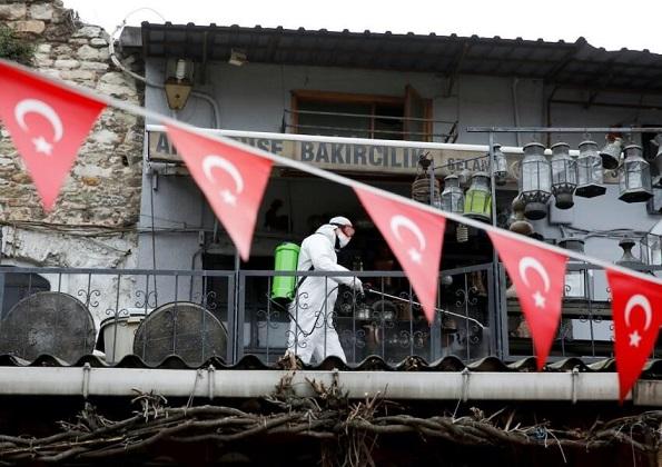 ابتلای بیش از ۵۴ هزار نفر در ترکیه به کرونا طی یک روز