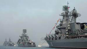 ورود کشتیهای جنگی روسیه به دریای سیاه