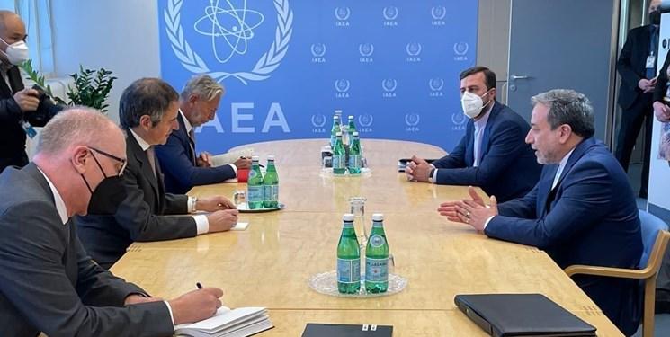 دیدار عراقچی و مدیرکل آژانس انرژی اتمی در وین (عکس)