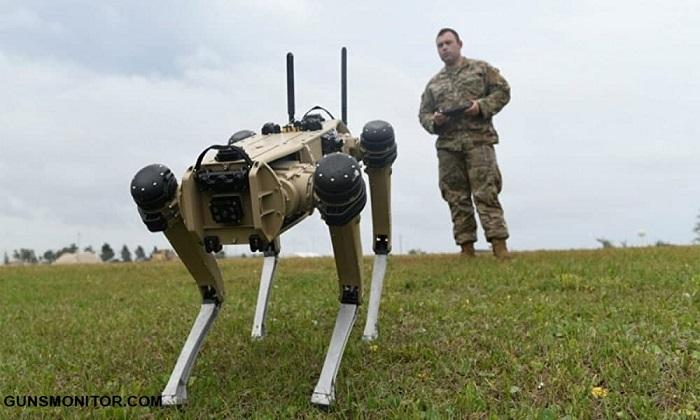 امنیت پایگاههای نظامی آمریکا و سگهای رباتی!(+عکس)