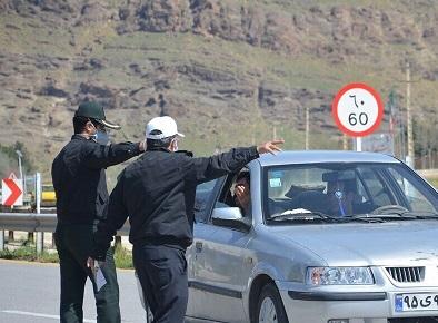 هشدار پلیس راه مازندران نسبت به ورود غیرمجاز به استان
