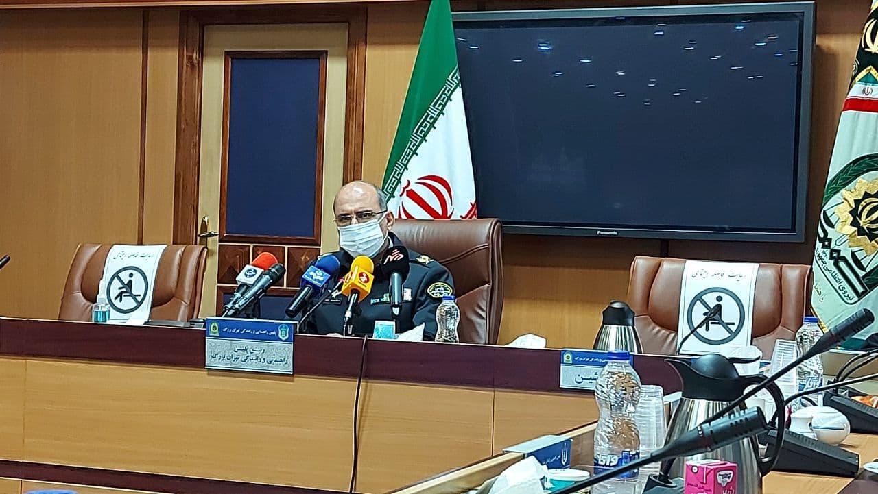رئیس پلیس راهور تهران خبر داد: مرگ ۲۶ شهروند تهرانی به دلیل خاموشی خیابانها در بهمن 99 / عدم توقیف ۳۷ هزار موتورسیکلت در طرح موتوریار