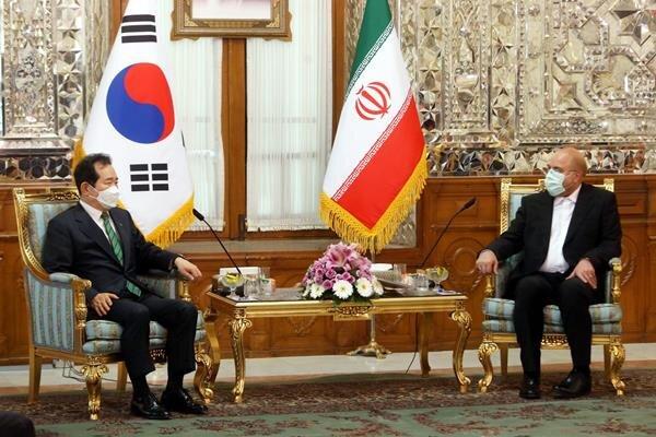 انتقادات صریح قالیباف خطاب به نخست وزیر کره جنوبی