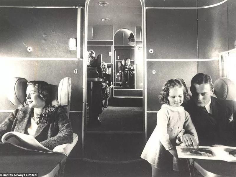 نگاهی کوتاه به تکامل کابین هواپیماهای مسافری