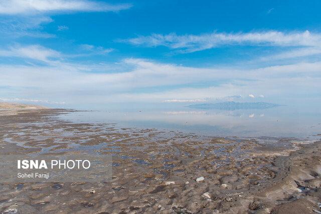 دریچه سدها بهروی دریاچه ارومیه بسته شده است