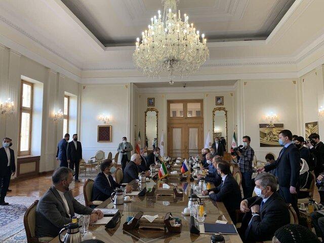 دیدار لاوروف با ظریف در تهران