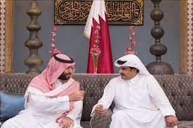 نخستین تماس تلفنی امیر قطر با ولیعهد سعودی پس از پایان اختلافات