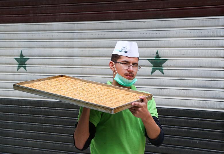 شیرینی مخصوص رمضان در سوریه