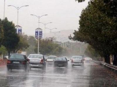 بارش باران در 13 استان کشور