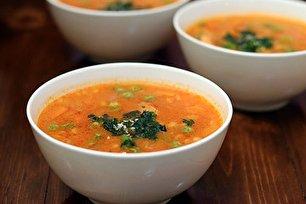 طرز تهیه سوپ با پرک جو