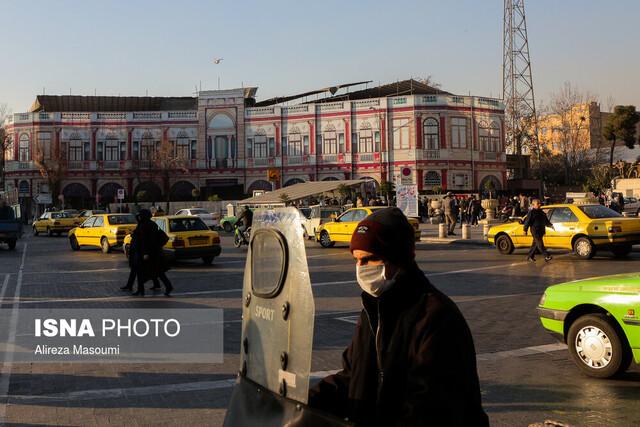 افزایش آلودگی هوا در ایران با شیوع کرونا