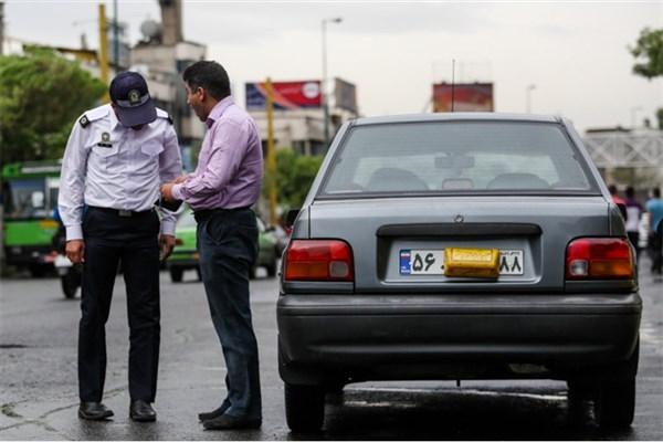 پلیس راهور تهران: طرح برخورد با تخلفات مخدوشی و پوشش پلاک در پایتخت