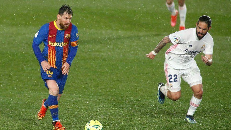 بارسلونا در برابر رئال مادرید