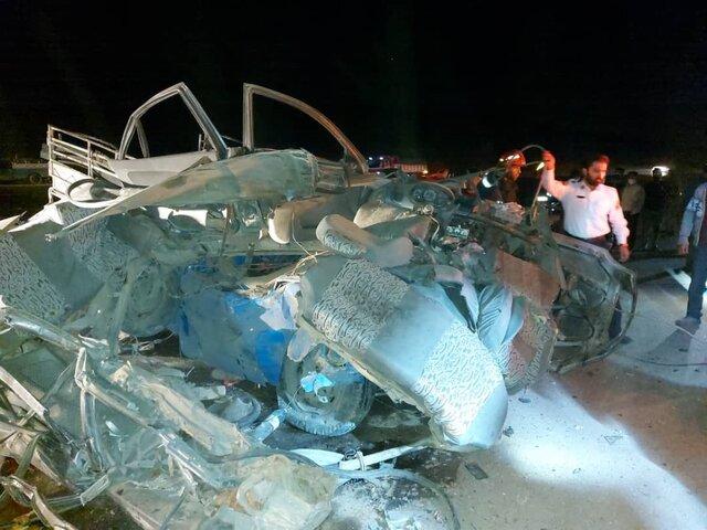 شیراز/ مرگ ۵ نفر در ۲ تصادف