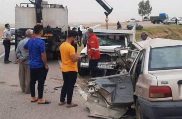 تصادف خودرو دزفول