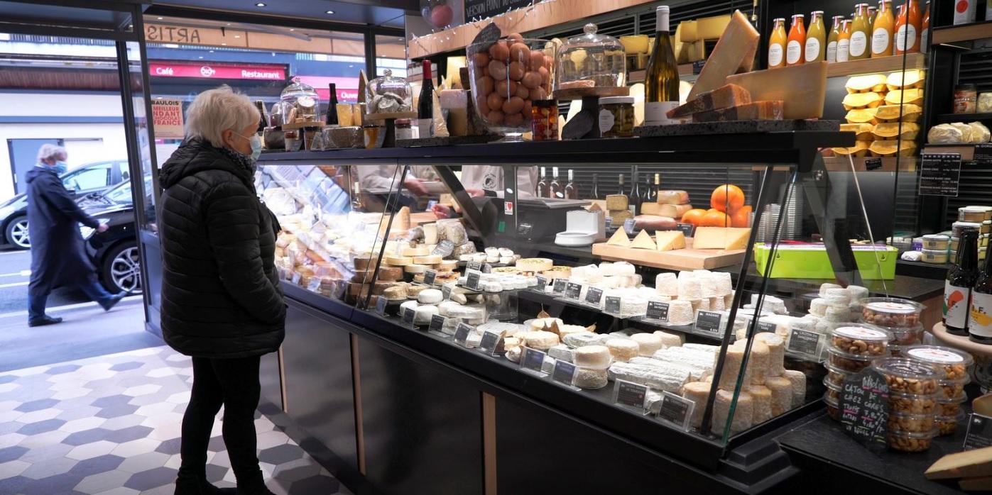 افزایش پنیر فرانسوی کرونا