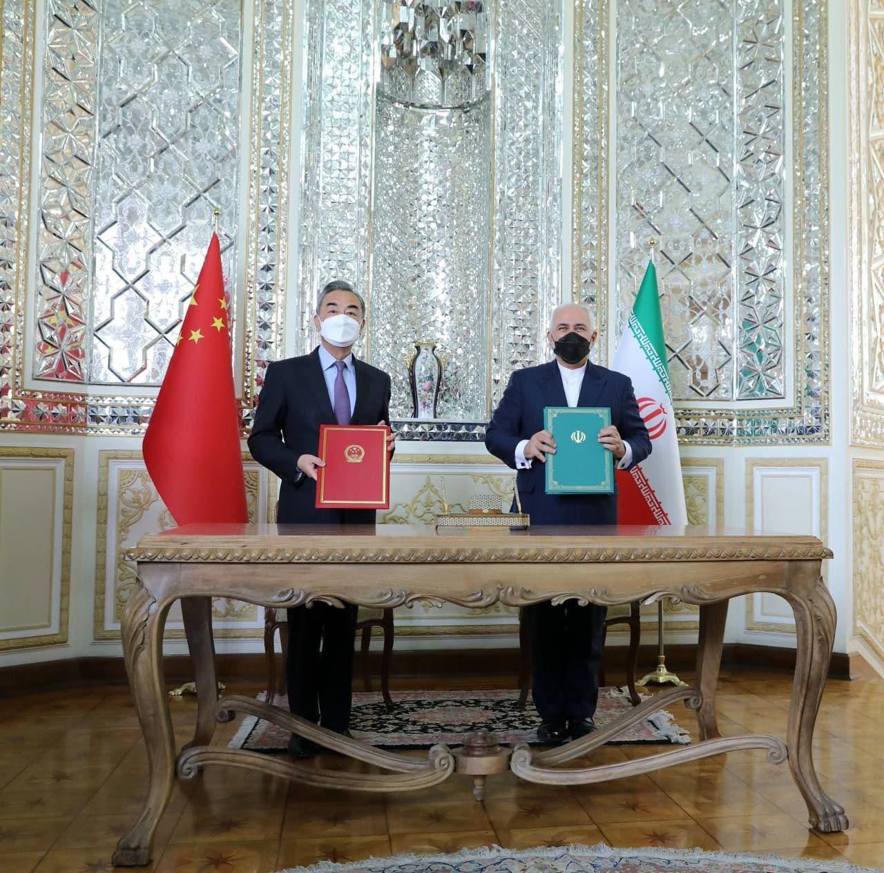 امضای سند همکاریهای جامع ایران و چین