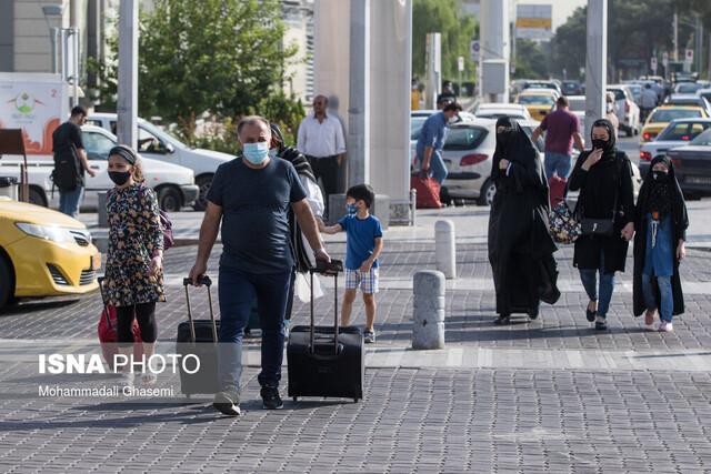 ورود مسافران به ایران