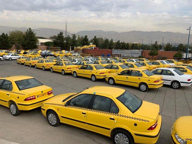 افزایش ۳۵ درصدی نرخ کرایه تاکسی های تهران/ آغاز برچسب گذاری نرخ جدید