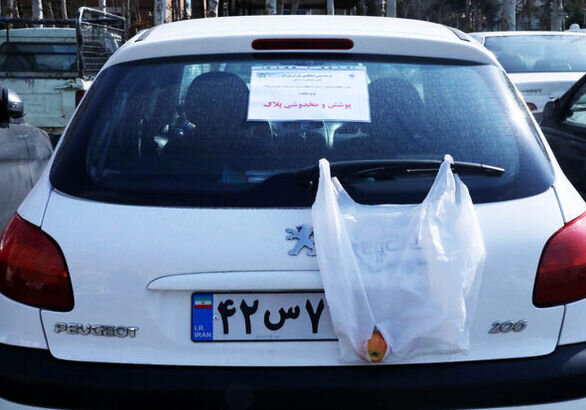 اجرای طرح ویژه «برخورد با پلاک های مخدوش» در تهران