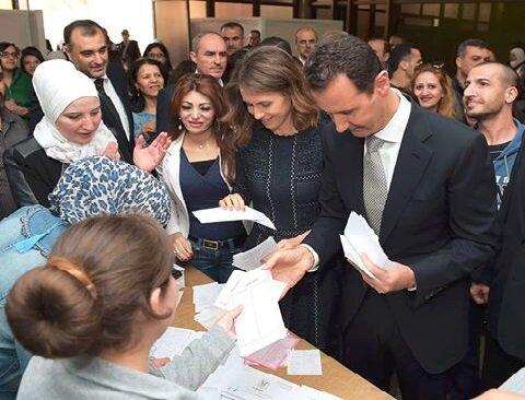 اعلام نامزدی بشار اسد برای انتخابات ریاست جمهوری