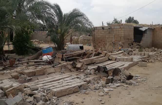 زلزله گناوه به ۴۰۰ خانه خسارت زد