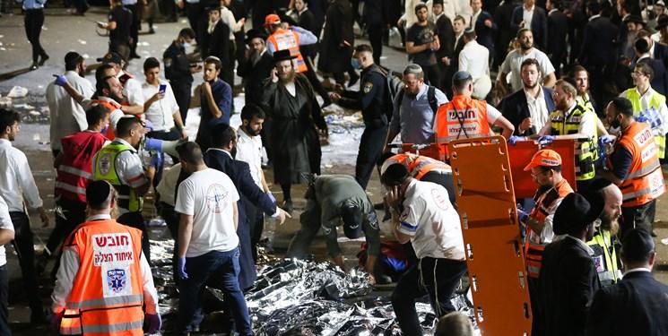 40 کشته در مراسم مذهبی شهرک نشینان اسرائیلی
