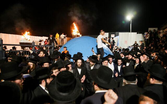 38 کشته  و 150 مجروح در مراسم مذهبی شهرک نشینان اسرائیلی