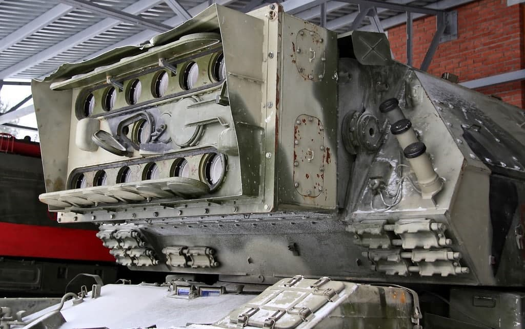 تانک لیزری شوروی (+عکس)