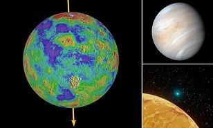 محققان: مدت زمان روزها در سیاره زهره با یکدیگر متفاوت است