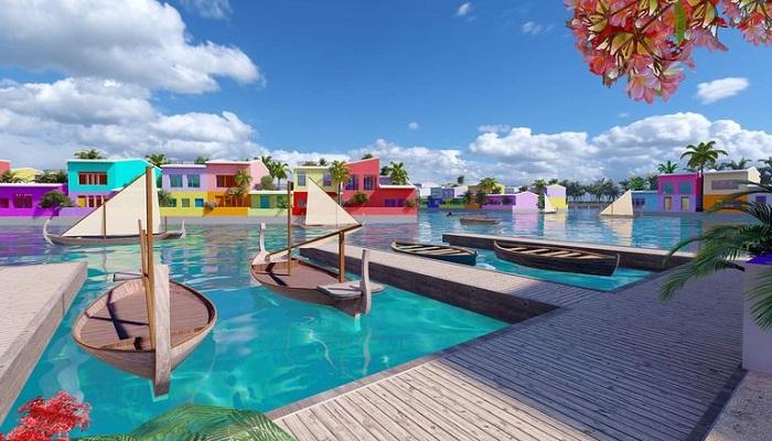 نخستین شهر شناور جهان مالدیو را از افزایش سطح آب دریا نجات میدهد