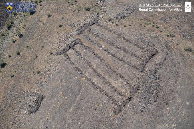 مستطیل های باستانی  در عربستان سعودی، قدیمی تر از اهرام مصر