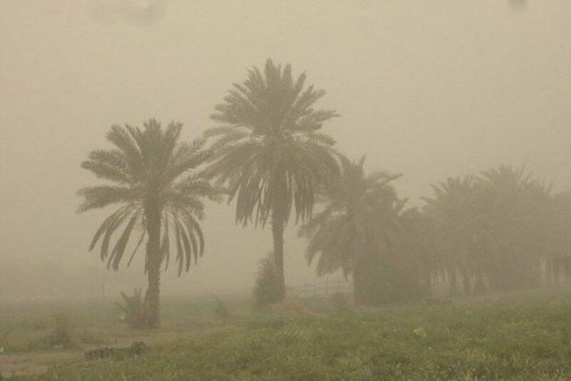 ورود گرد و غبار به برخی نقاط خوزستان تا ساعاتی