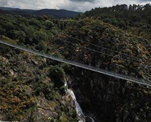 افتتاح طولانیترین پل معلق جهان (عکس)