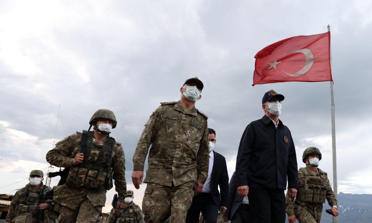 کشته شدن ۵۳ عضو پ.ک.ک و ۷ سرباز ترکیه در شمال عراق