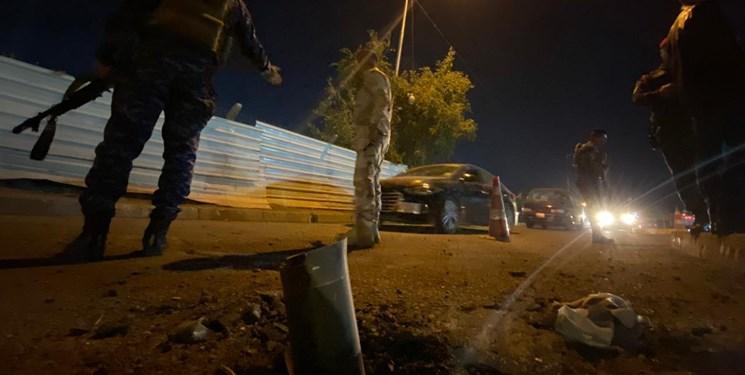 حملات راکتی به پایگاه آمریکا در شمال بغداد