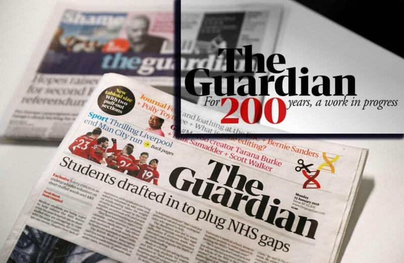 روزنامه گاردین 200 ساله شد