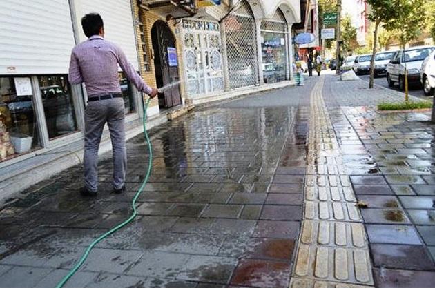 ثانیه شمار روزهای کم آبی در پایتخت
