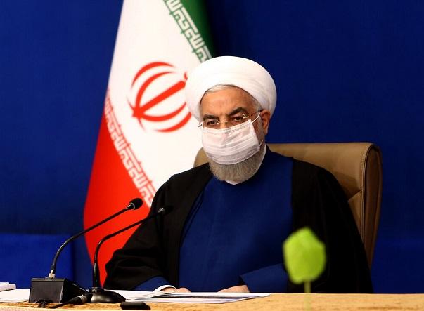 روحانی: در حال عبور از پیک چهارم کرونا هستیم