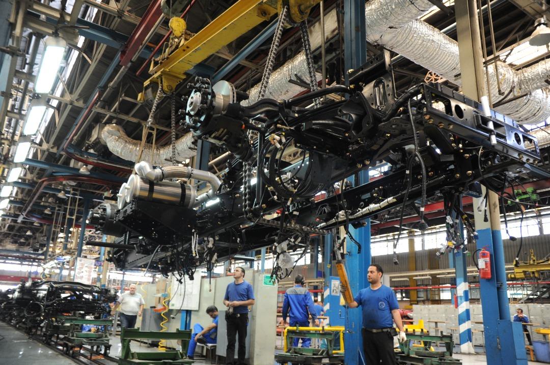 تولید 253 دستگاه انواع خودرو کار و تجاری در ایران خودرو دیزل