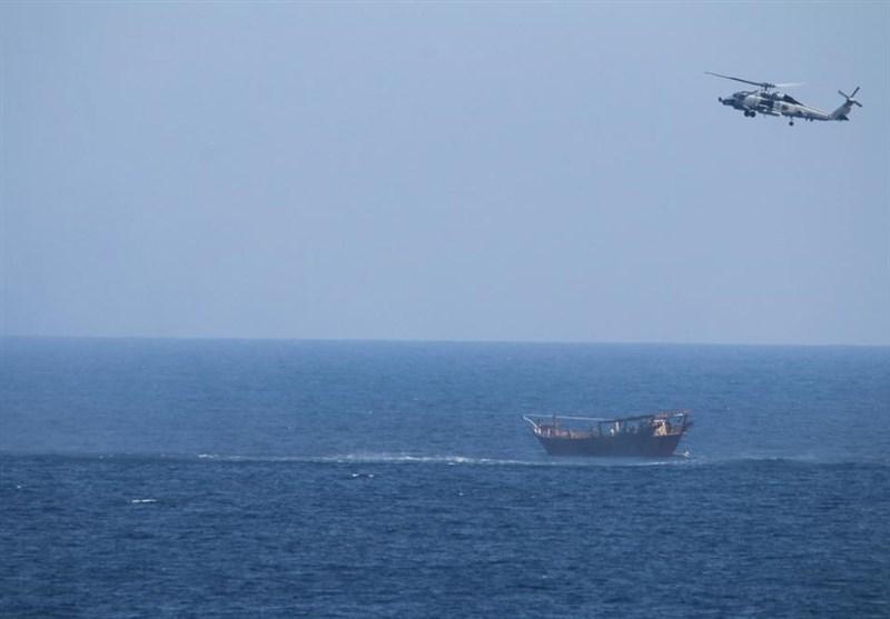 ادعای آمریکا: کشتی توقیف شده در دریای عرب حامل اسلحه از ایران بوده