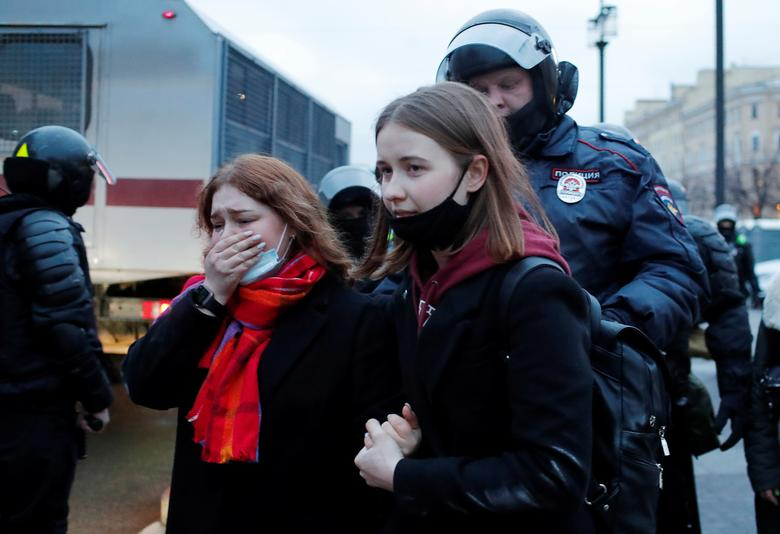 بازداشت حامیان ناوالنی در روسیه
