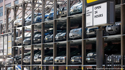 120 سالگی پارکینگ طبقاتی به روایت تصویر