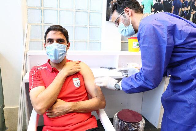 کدام بازیکنان تیم ملی واکسن زدند؟ (+ عکس)