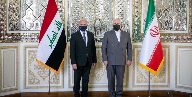 ظریف در گفتگو با همتای عراقی: عاملان تعرض به کنسولگری ایران در کربلا شناسایی شوند