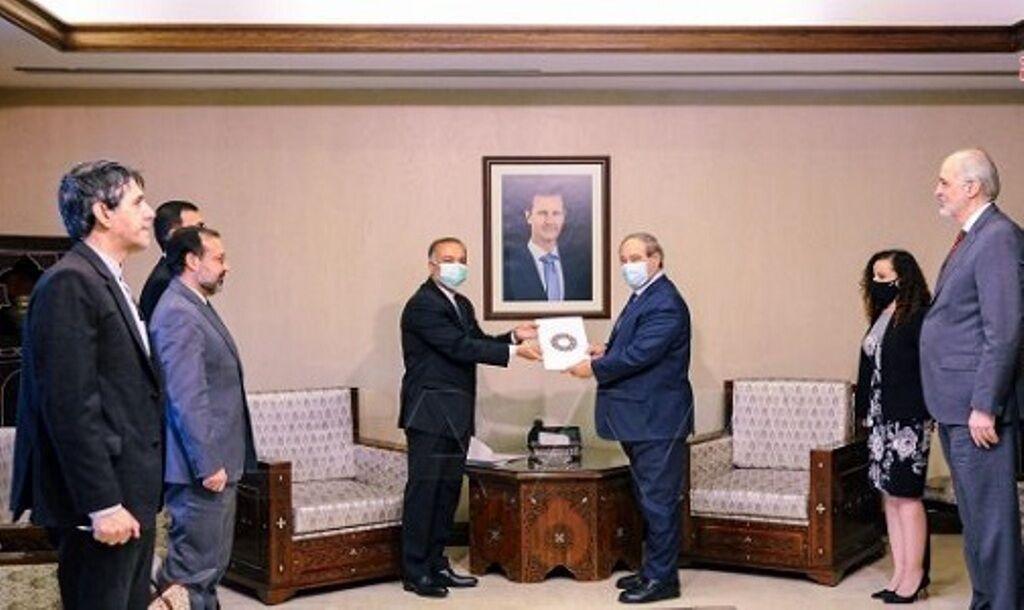سفیر جدید ایران در دمشق (+عکس)
