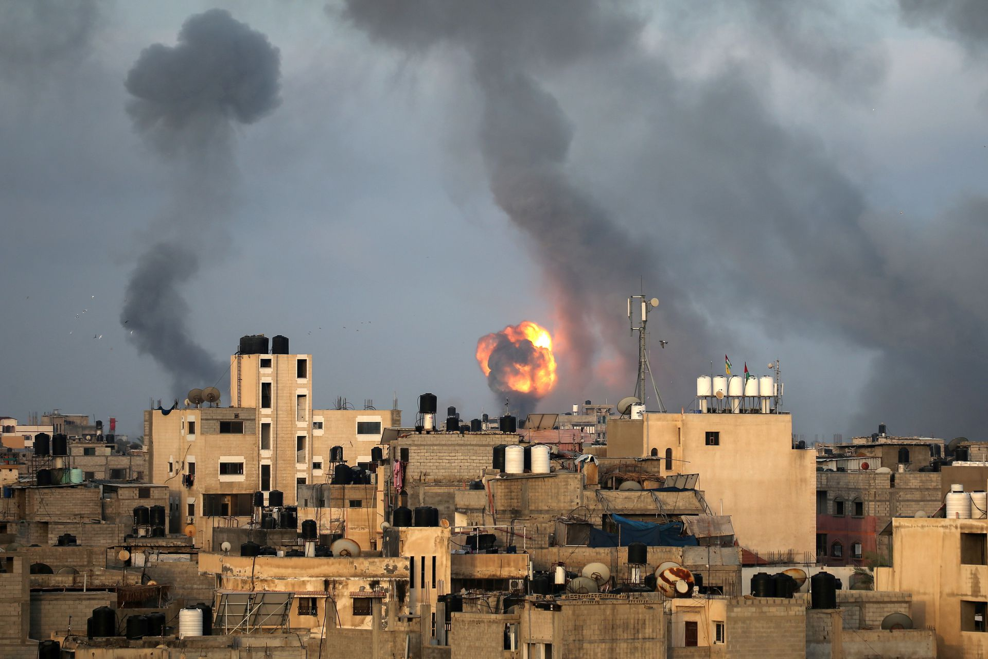 حمله اسرائیل به فلسطین