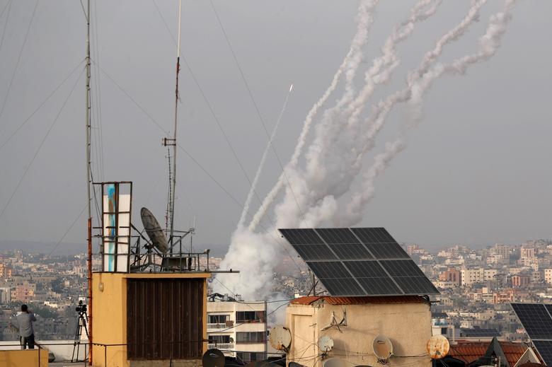 حملات اسرائیل به فلسطین