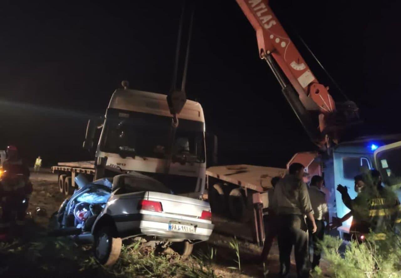 3 کشته در تصادف جاده ورامین- چرمشهر