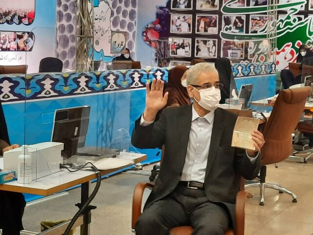 صادق خلیلیان در انتخابات ریاست جمهوری ثبت نام کرد